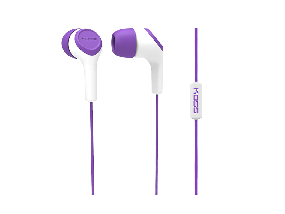 Słuchawki KEB15i (fioletowy)