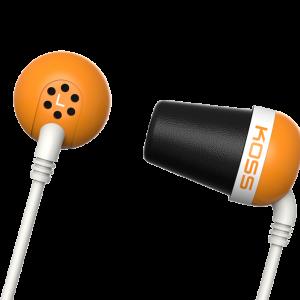 Słuchawki The Plug (pomarańczowy)
