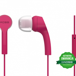 Słuchawki KEB9i (różowy)
