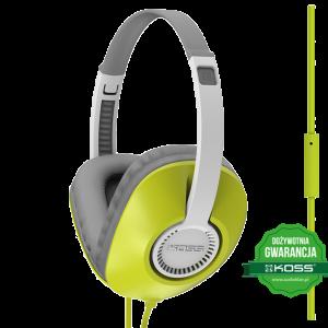 Słuchawki UR23i (zielony)